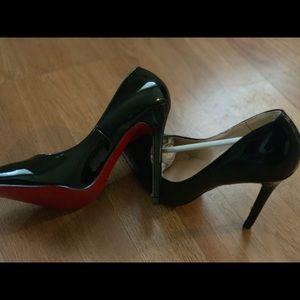A pair of Women's Christian Louboutin heels